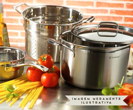 Espagueteira em Inox 3-Ply - Prata | WestwingNow