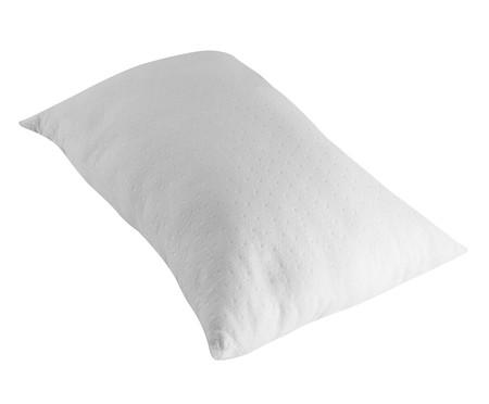 Travesseiro Flor de Algodão Lavável com Íons de Prata - Branco | WestwingNow