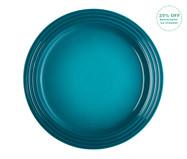 Prato Raso em Cerâmica - Azul | WestwingNow