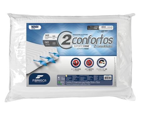 Travesseiro Dois Confortos - Branco | WestwingNow