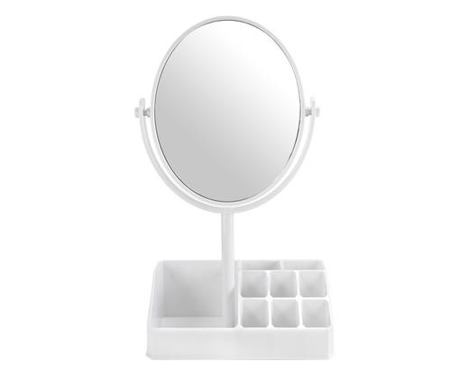 Espelho de Mesa com Divisórias Stella - Branco, Branco | WestwingNow
