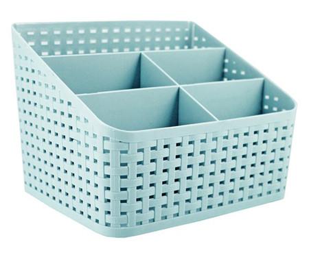 Organizador de Mesa Multifuncional Nola Azul - 19,5X16cm | WestwingNow
