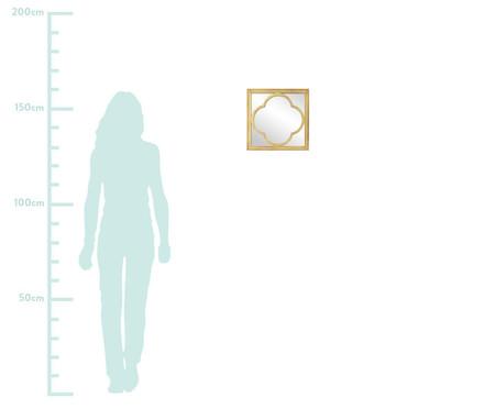 Espelho Tile Westwing Collection - Dourado | WestwingNow