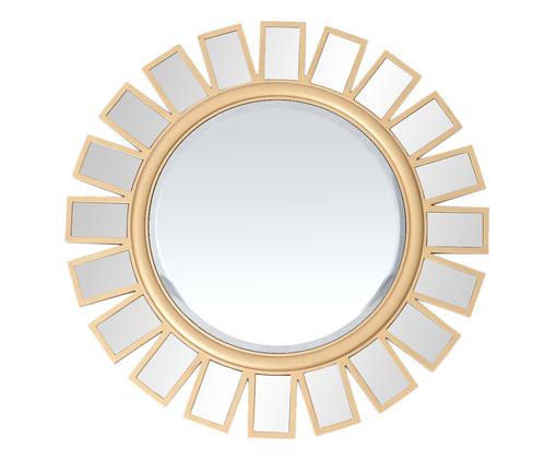 Espelho Pétalas - Dourado, Dourado | WestwingNow