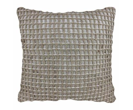 Almofada em Crochê Giovanna - 52x52cm, Cru | WestwingNow