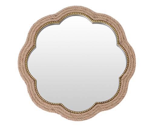 Espelho Foil - Bege, Dourado | WestwingNow