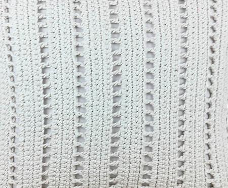 Almofada em Crochê Laura - 52x52cm | WestwingNow