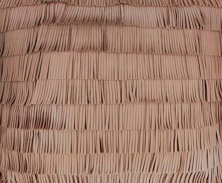 Almofada em Couro Franja Jade - 52x52cm | WestwingNow