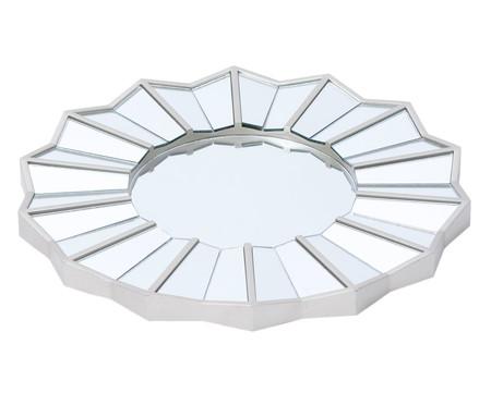 Espelho Facetas - Prateado | WestwingNow