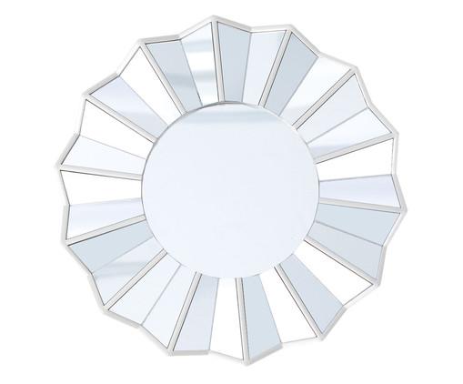 Espelho Facetas - Prateado, Prata / Metálico | WestwingNow