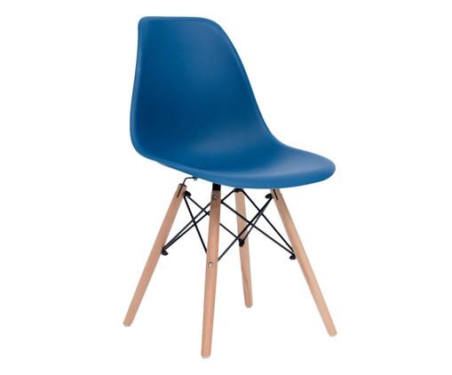 Cadeira Eames Wood - Azul Pavão, Azul Pavão | WestwingNow