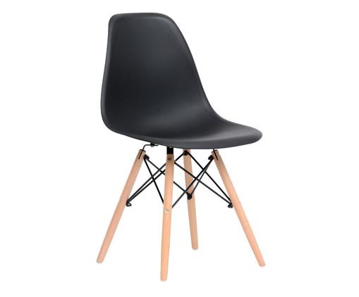 Cadeira Eames Wood - Preto, Preto | WestwingNow
