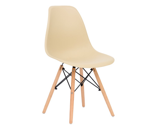 Cadeira Eames Wood - Areia, Areia | WestwingNow