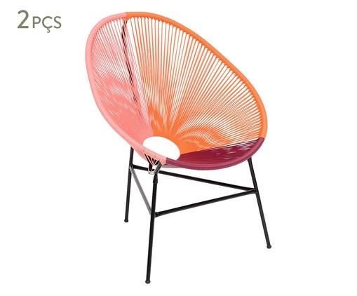 Jogo de Cadeiras Acapulco Jalisco - 02 Peças, Multicolorido | WestwingNow