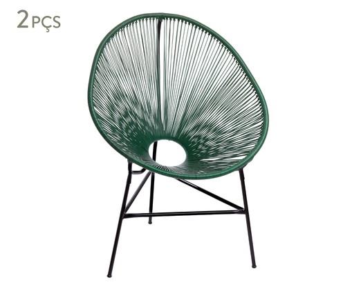 Jogo de Cadeiras Acapulco - Verde Musgo - 02 Peças, verde   WestwingNow