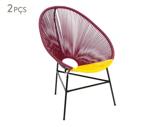 Jogo de Cadeiras Acapulco Oaxaca - 02 Peças, Multicolorido | WestwingNow