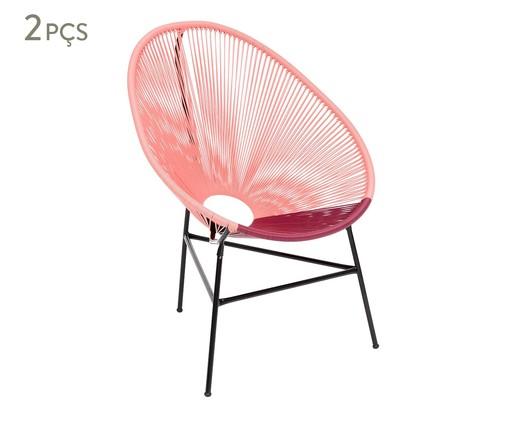 Jogo de Cadeiras Acapulco Chiapas - 02 Peças, Multicolorido   WestwingNow