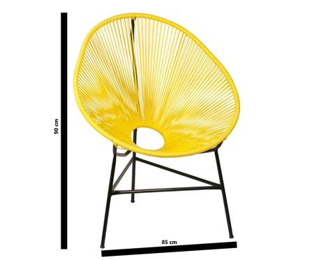 Jogo de Cadeiras Acapulco - Amarela - 02 Peças | WestwingNow