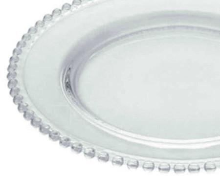 Sousplat em Cristal Pearl - Transparente | WestwingNow