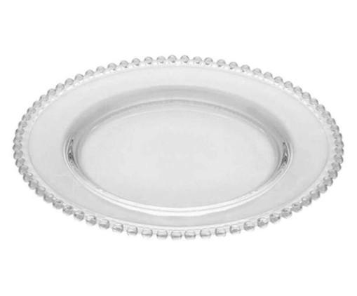 Sousplat em Cristal Pearl - Transparente, Transparente   WestwingNow