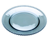 Prato em Cristal Pearl - Azul | WestwingNow