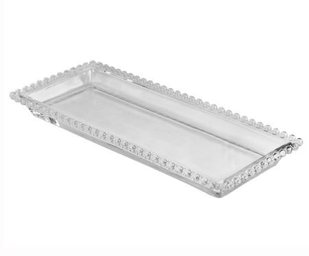 Travessa em Cristal Pearl - Transparente | WestwingNow
