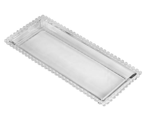 Travessa em Cristal Pearl - Transparente, Transparente | WestwingNow