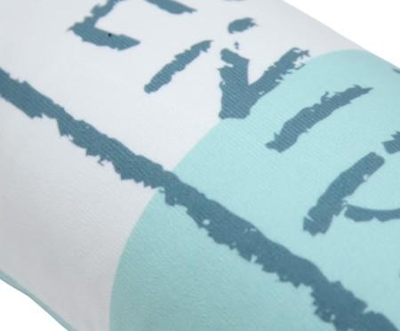Almofada Série Santos Remédios Azul - 25X60cm | WestwingNow
