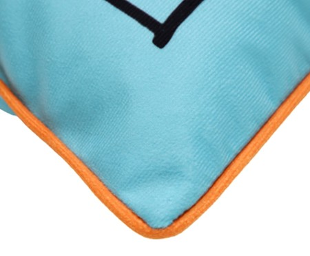 Capa Almofada Eu e Você - Azul | WestwingNow