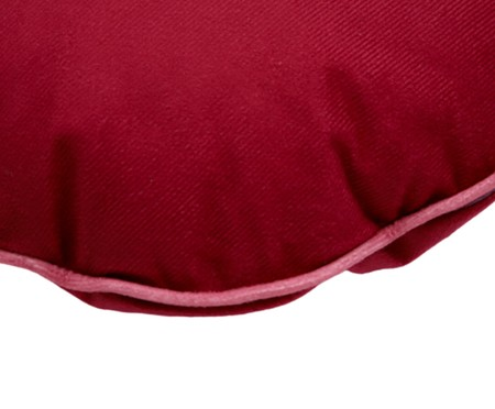Almofada Minutinhos Vermelha - 38X38cm | WestwingNow