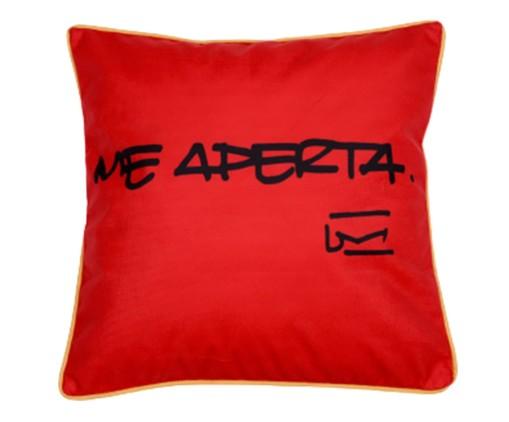 Capa de Almofada Me Aperta - 45X45cm, Vermelha | WestwingNow