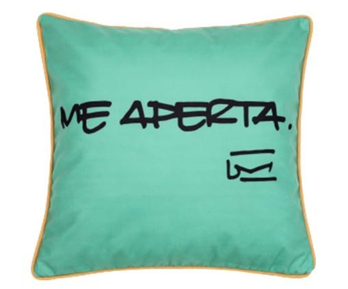 Capa de Almofada Me Aperta Verde - 45X45cm, Verde,Vermelha   WestwingNow