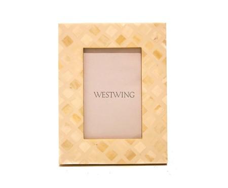 Porta-Retrato de Osso Liz | WestwingNow
