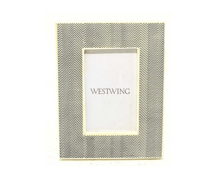 Porta-Retrato de Osso Janio | WestwingNow