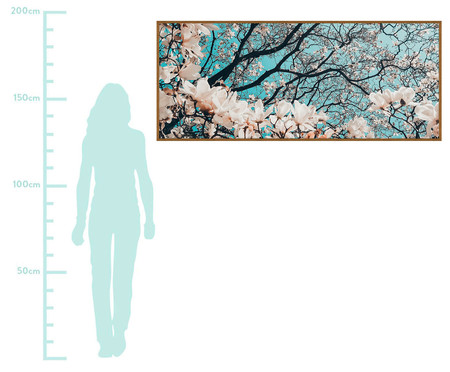 Quadro Artsy Decorous - 173X73cm | WestwingNow