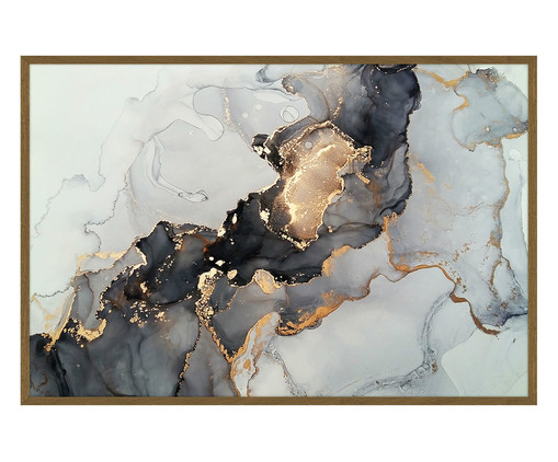 Quadro Linha Artsy - 93X63cm, Multicolorido | WestwingNow