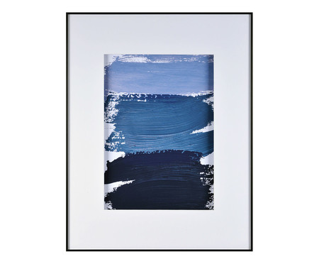 Quadro Navy Blue Watercolor Conscientious - 58X74cm | WestwingNow