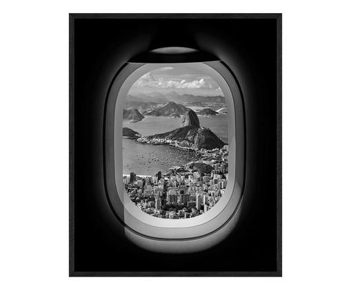 Quadro Rio de Janeiro - 62X77cm, preto | WestwingNow