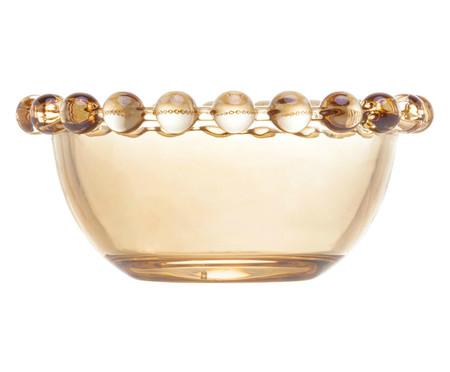 Jogo de Bowls em Cristal Pearl - Âmbar   WestwingNow