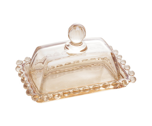 Mantegueira em Cristal Pearl - Âmbar, Âmbar | WestwingNow