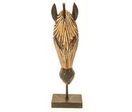 Escultura em Resina Zebra - Marrom | WestwingNow