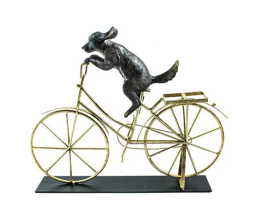 Escultura em Resina Cachorro - Bronze, DOURADO   WestwingNow