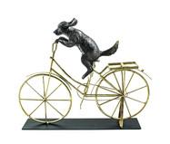 Escultura em Resina Cachorro - Bronze | WestwingNow