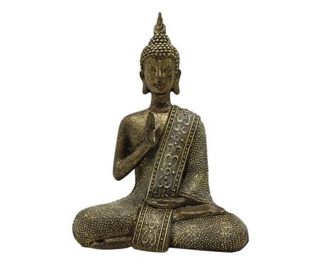 Escultura Indiano Buda - Cinza | WestwingNow