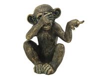 Escultura em Resina Monkey ll   WestwingNow