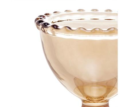 Jogo de Suporte para Ovo em Cristal Pearl - Âmbar | WestwingNow