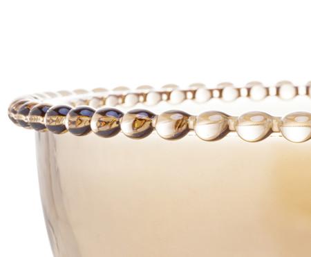 Saladeira em Cristal Pearl - Âmbar | WestwingNow