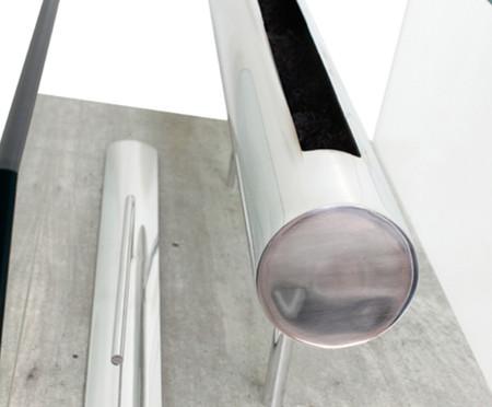 Lareira Ecológica com Rodízios Gavrel - Concreto | WestwingNow