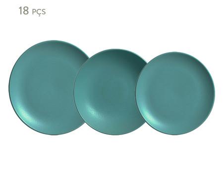 Jogo de Pratos Stoneware Fiordes - 06 Pessoas | WestwingNow
