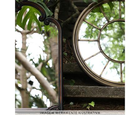 Espelho Sevilha Cinza Escuro - 63,5X76cm | WestwingNow